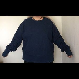 Plus Size Forever 21 Navy Blue Sweater